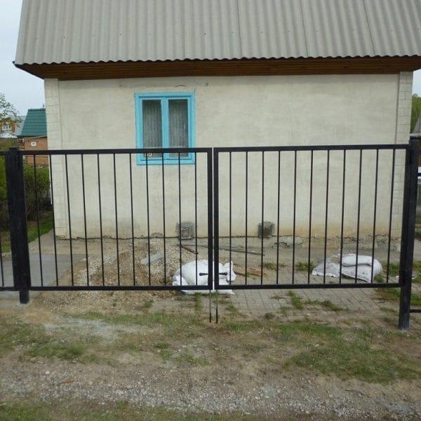 Ворота двустворчатые ДЕКО 1500х3000 мм, модель В (03 серия)