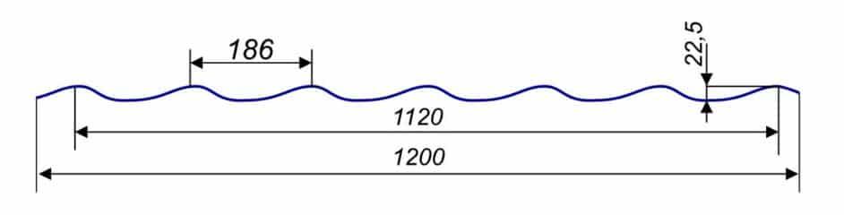 Металлочерепица Monterrey 1200/1120 мм, (ARVEDI - Италия), matt