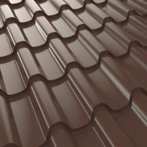"""Металлочерепица 350/27 """"Премиум Плюс"""" 1140/1020, U.S.Steel, PE,0,45мм"""