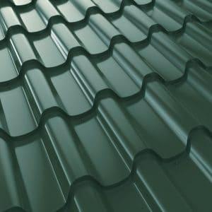 """Металлочерепица 350/27 """"Премиум Плюс"""" 1140/1020, U.S.Steel, PE, 0,50мм"""